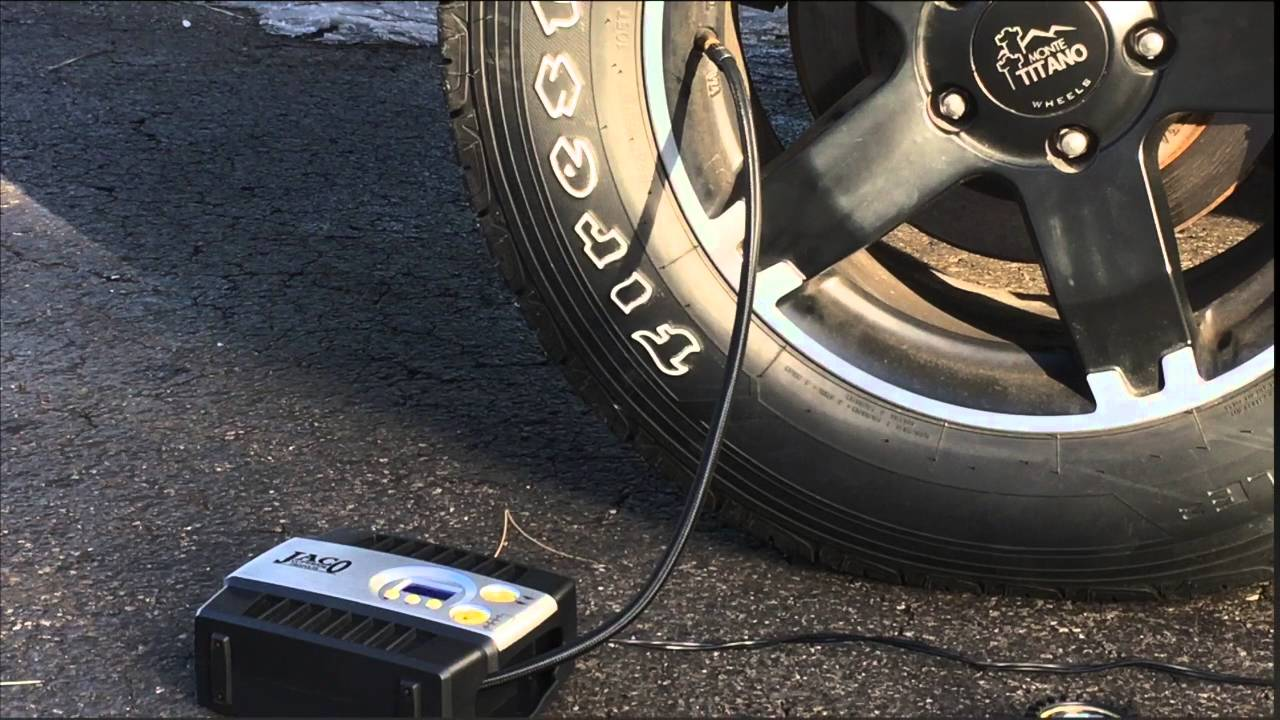 How to pump car tire with bicycle pump