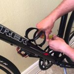 how to install a bike pump