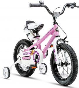 royal baby pink bike for kid
